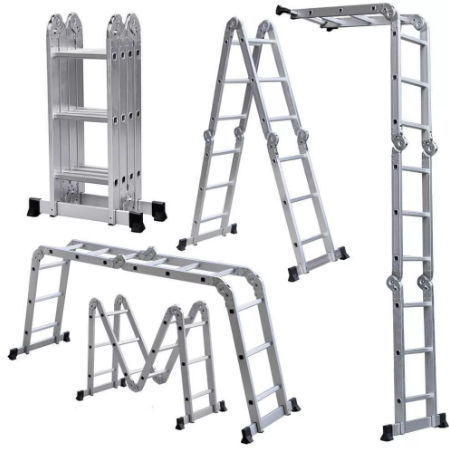 Лестницы строительные - Строительное оборудование | Купить оптом в интернет-магазине doss-stroy.ru