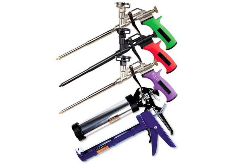 Пистолеты для пен и герметиков купить оптом в интернет-магазине doss-stroy.ru
