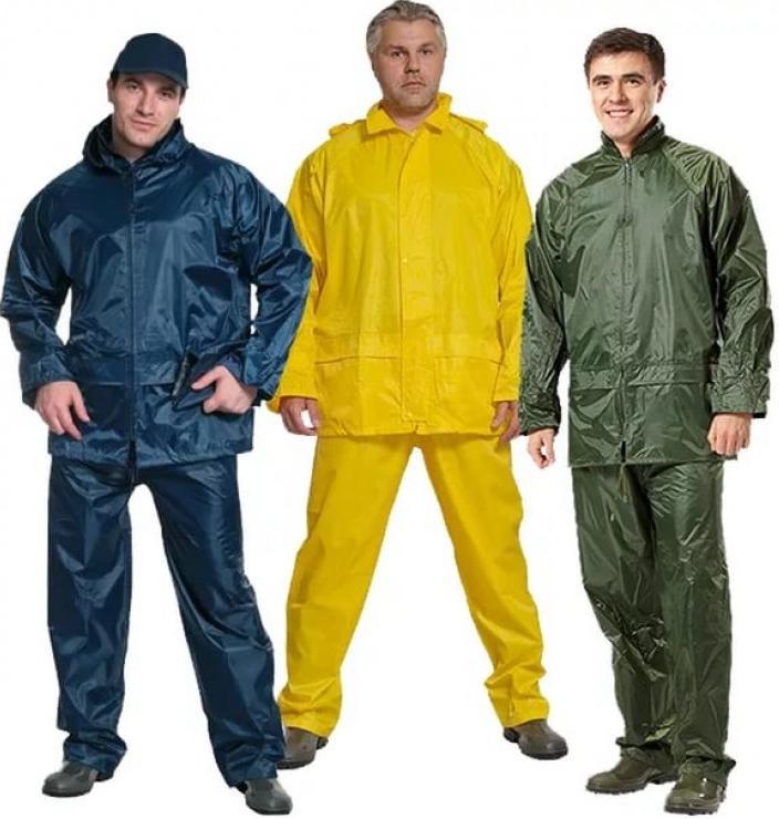 Влагозащитный костюм для строительных работ. Купить спецодежду по низкой цене в магазине doss-stroy.ru