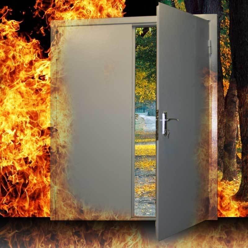 Двери противопожарные - Купить недорого в интернет-магазине doss-stroy.ru