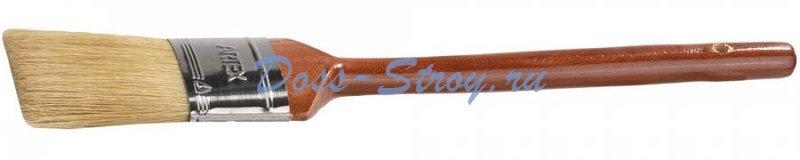 Кисть овальная STAYER UNIVERSAL-ARTEX светлая натуральная щетина деревянная ручка