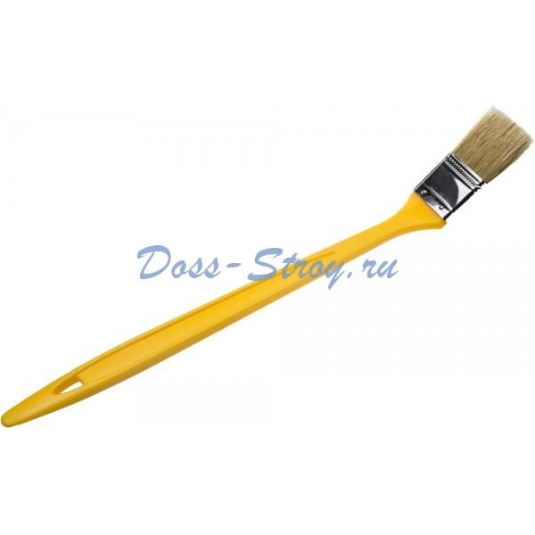 Кисть радиаторная STAYER UNIVERSAL-MASTER светлая натуральная щетина пластмассовая ручка