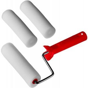 Валик MIRAX ПОРОЛОН в наборе: 3 шубки + ручка 140 мм d=40 мм