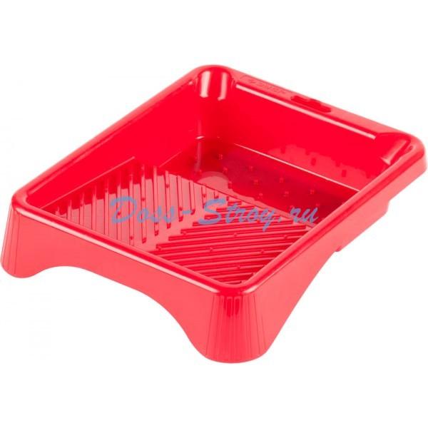 Ванночка ЗУБР малярная пластмассовая для валиков до 140 мм 200х240 мм 03 л