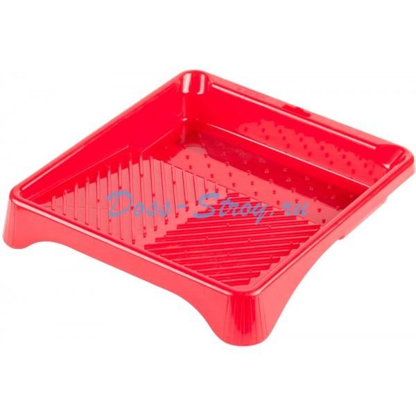 Ванночка ЗУБР малярная пластмассовая для валиков до 210  мм 280х300 мм 06 л