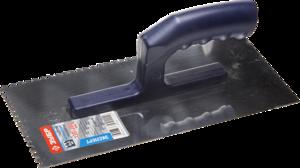 Гладилка штукатурная зубчатая ЗУБР Профи Профессионал 130х280 мм 4х4 мм