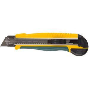 Нож с сегментирован лезвием KRAFTOOL кассета на 5 лезвий 25 мм