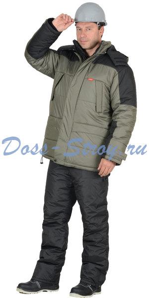 Куртка зимняя ЕВРОПА серая