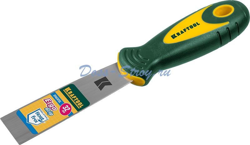 Шпательная лопатка KRAFTOOL с 2 компонентной ручкой 32 мм
