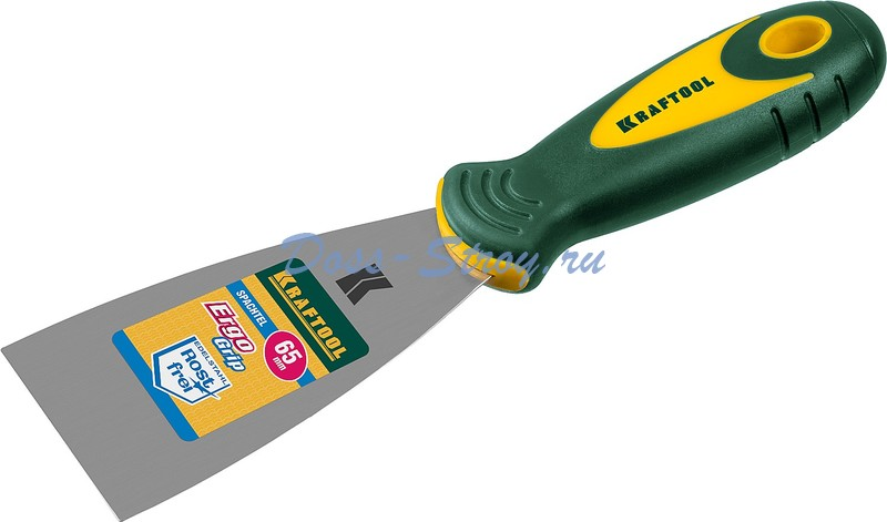 Шпательная лопатка KRAFTOOL с 2 компонентной ручкой 65 мм