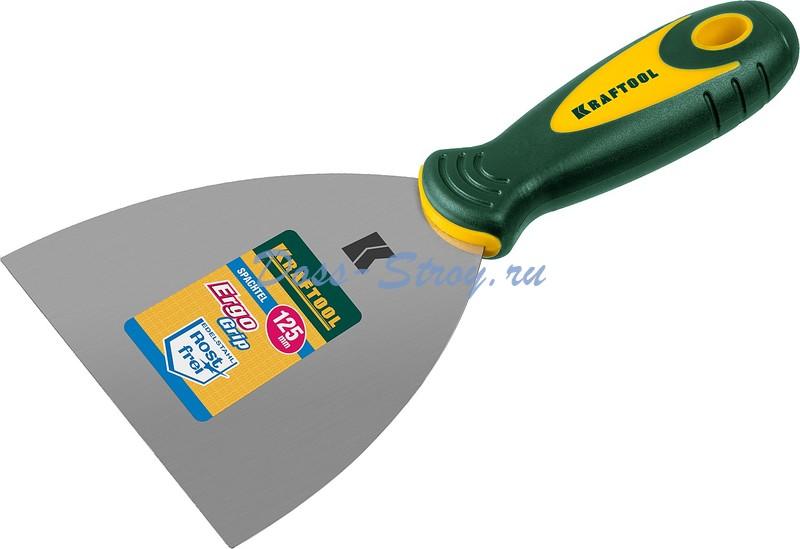Шпательная лопатка KRAFTOOL с 2 компонентной ручкой 125 мм