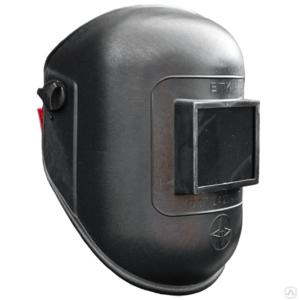 Щиток защитный лицевой Евро для электросварщика с храповиком Юнона