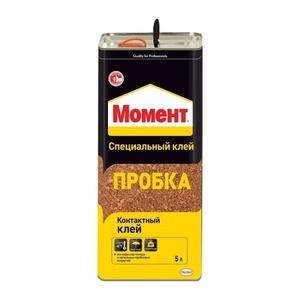Клей Момент Пробка (5 л)