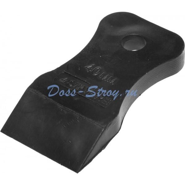 Шпатель STAYER MASTER резиновый черный 40 мм