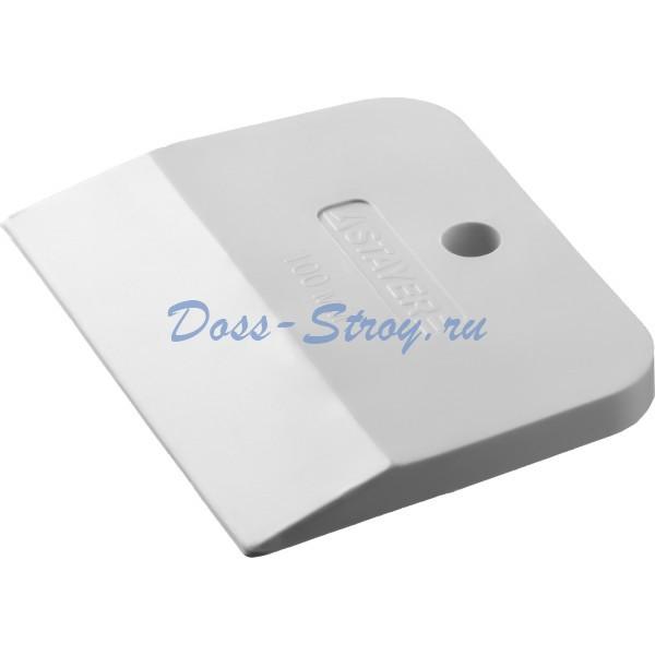 Шпатель STAYER MASTER резиновый белый 100 мм