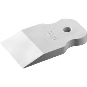 Шпатель STAYER MASTER резиновый белый 40 мм