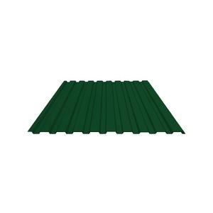 Профнастил С-20 (RAL 6005) зеленый мох 1150х2000х0,4 мм (2,3 м2)