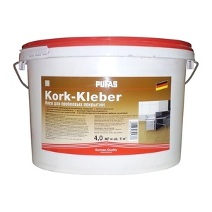 Клей для пробковых покрытий Pufas (4 кг)