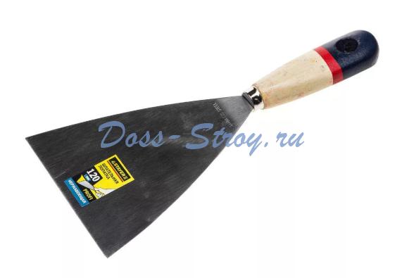 Шпательная лопатка STAYER PROFI деревянная ручка 120 мм