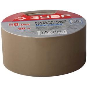Клейкая лента, ЗУБР Мастер коричневая, 48 мм х 60 м