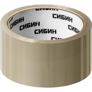 Клейкая лента, СИБИН прозрачная, 48 мм х 50 м