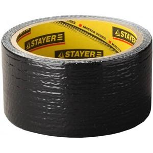Армированная лента, STAYER Professional универсал, влагостойкая, черная
