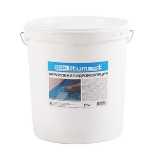 Гидроизоляция акриловая Битумаст, 20 кг