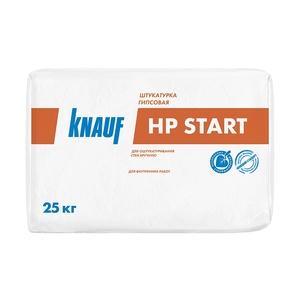 Штукатурка гипсовая Knauf HP-Start, 25 кг