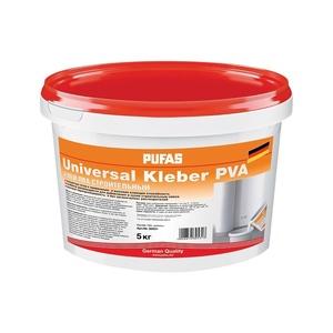 Клей ПВА Pufas Universal Kleber cтроительный (5 кг)