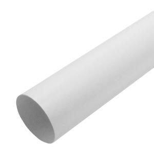Труба водосточная Мурол, d=80, белая, 3 м