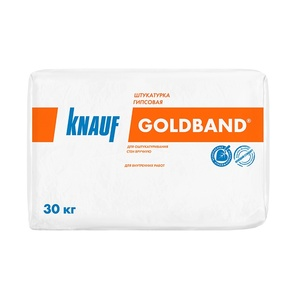 Штукатурка Knauf Goldband, 30 кг