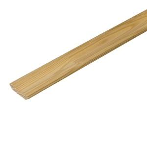 Плинтус деревянный клееный 50х2500 мм