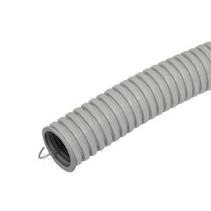 Труба ПВХ э/тех. легкого типа с зондом, d=25 мм (бухта-75 п.м.)