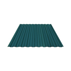 Профнастил С-8 (RAL 6005) зеленый мох 1200х2000х0,4 мм (2,4 м2)