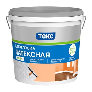 Шпаклёвка латексная Текс Профи (5 кг)