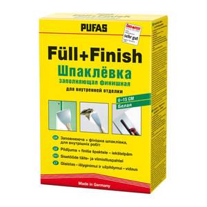 Шпаклёвка для заполнения трещин и дыр Pufas N1 Fullspachtel (2 кг)