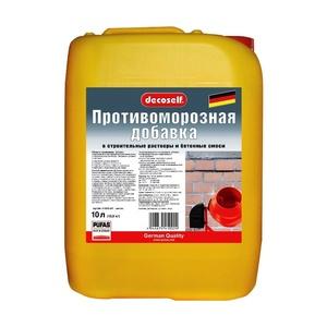 Противоморозная добавка для бетона Pufas до -10 °С, 10 л = 10,9 кг