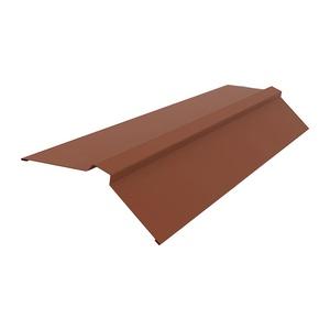 Конек кровельный (RAL 8017) коричневый шоколад (2 м)