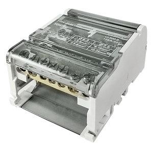 Блок модульный распределительный на DIN-рейку 100А, 4П (4x7)