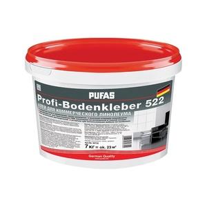 Клей PUFAS Profi-Bodenkleber 522 для напольных покрытий 7 кг