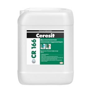 Масса гидроизоляционная эластичная Ceresit CR166 Комп.В, 10 кг