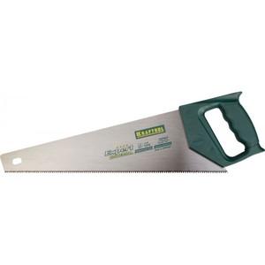 Ножовка по дереву KRAFTOOL UNIVERSAL наклонный 400 мм 9/10 TPI