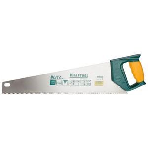 Ножовка по дереву KRAFTOOL BLITZ 7/8 TPI прямые 450 мм