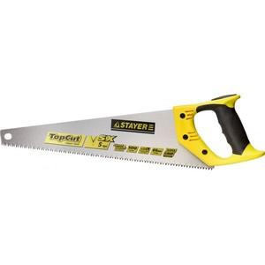 Ножовка по дереву STAYER Cobra 5 прямой крупный зуб 5 TPI