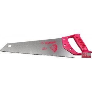 Ножовка ЗУБР ЭКСПЕРТ прямой закаленный зуб 3,5 мм