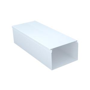 Кабель-канал ПВХ 100х60 мм, двойной замок, белый (2 м)