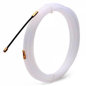 Нейлоновая протяжка белая 3 мм 5 м NP-3.0/05 FORTISFLEX