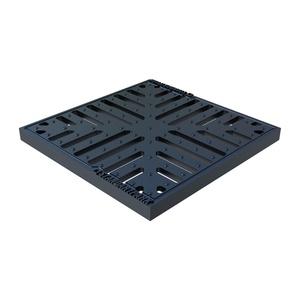 Решетка для дождеприемника Standartpark Basic, 280х280 мм, чугунная