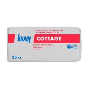 Смесь для кладки и штукатурки Knauf Cottage, 25 кг