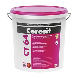 Штукатурка и ремонтная шпаклевка Ceresit CT 29, для минеральных оснований, 25 кг